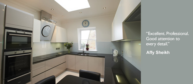 Kitchen Designers London - Contemporary Kitchen Designers - London Kitched Design and Build